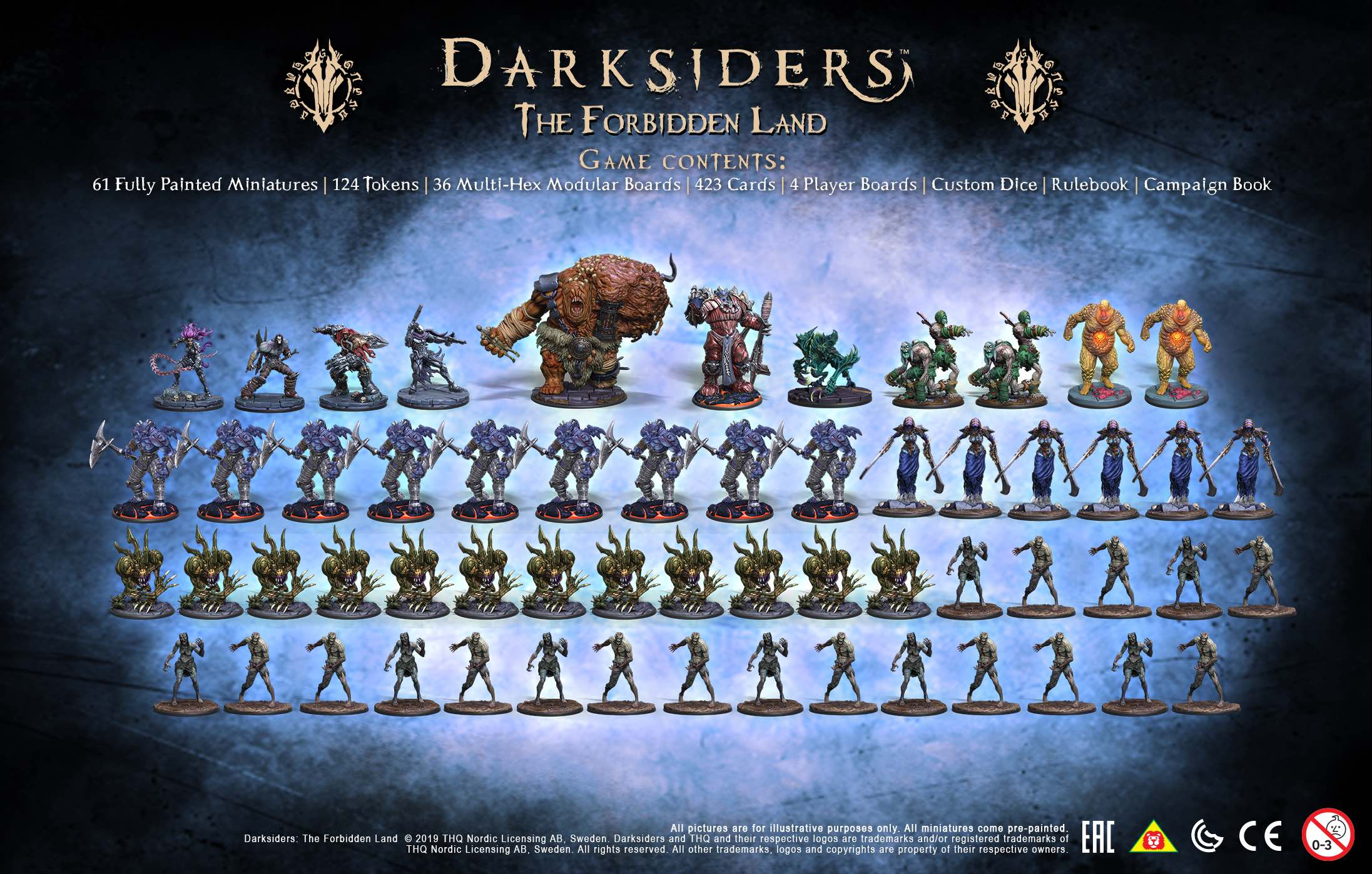 Darksiders: The Forbidden Land Contents Photo