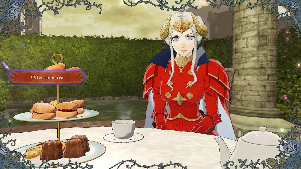 Fire Emblem: Three Houses Tea Guide Screenshot