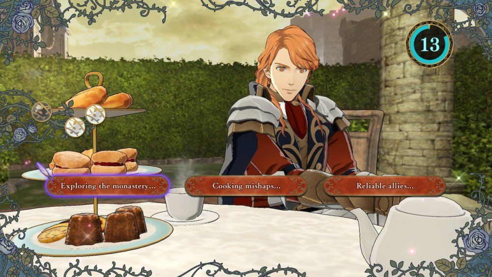 Fire Emblem: Three Houses Tea Time Screenshot