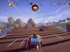 Garfield Kart: Furious Racing Screenshot