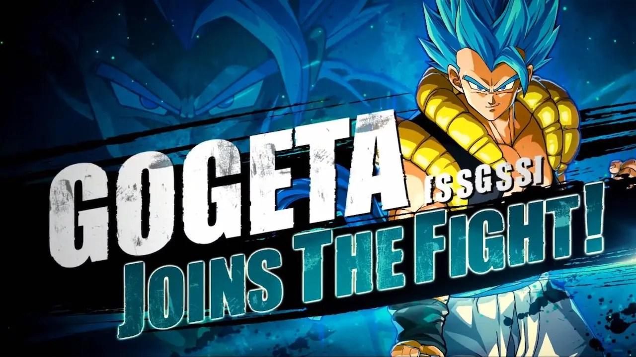 Gogeta Dragon Ball FighterZ Screenshot