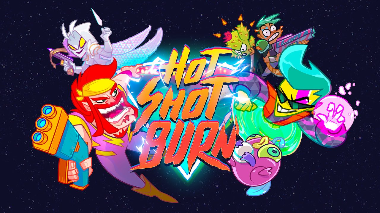 Hot Shot Burn Key Art