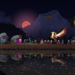 Kingdom Two Crowns: Challenge Islands Skull Island Screenshot
