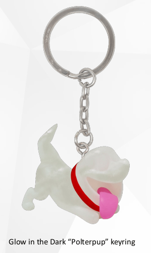 Luigi's Mansion 3 Polterpup Keyring Photo