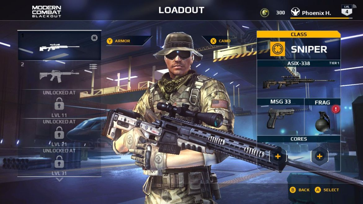 Modern Combat Blackout Review Screenshot 2