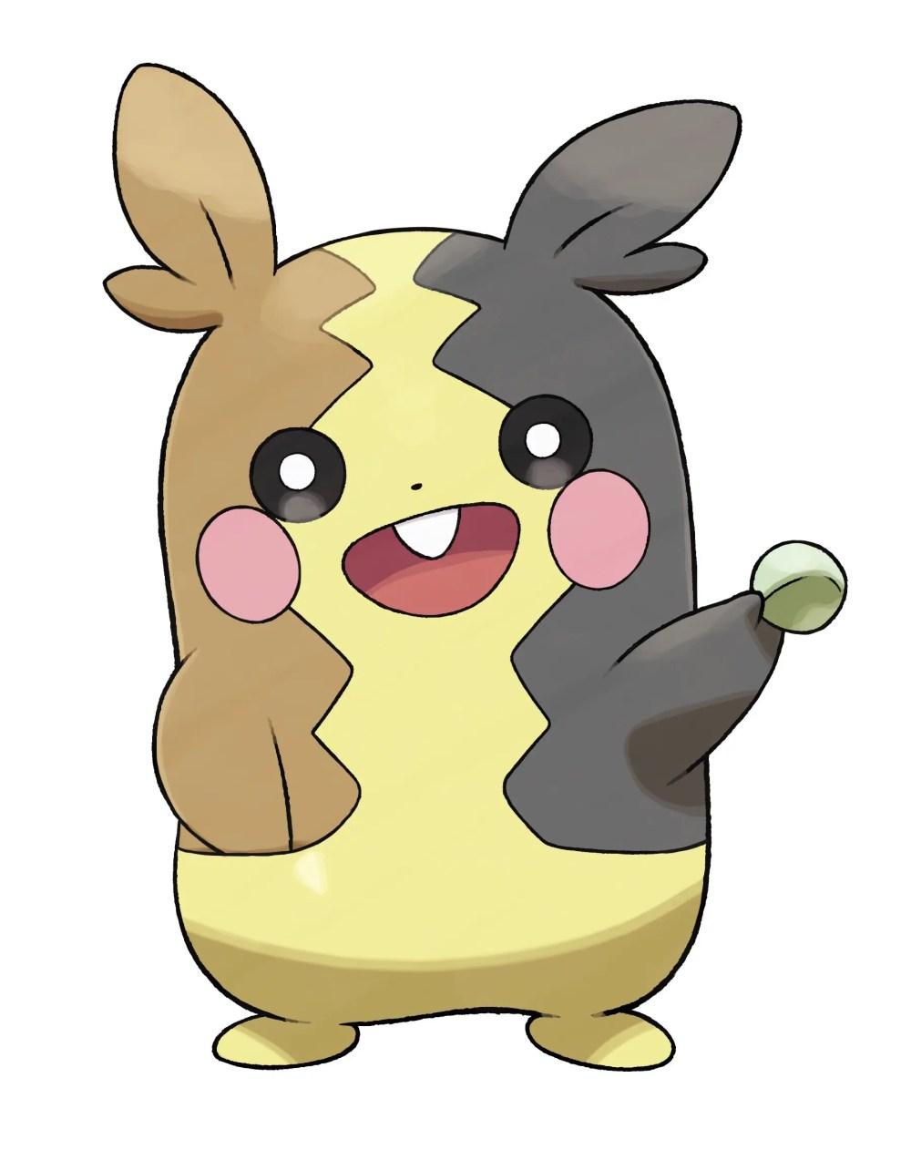 Morpeko Full Body Mode Pokémon Sword and Shield Artwork