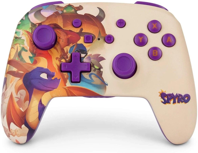 PowerA Spyro Enhanced Wireless Controller for Nintendo Switch Photo