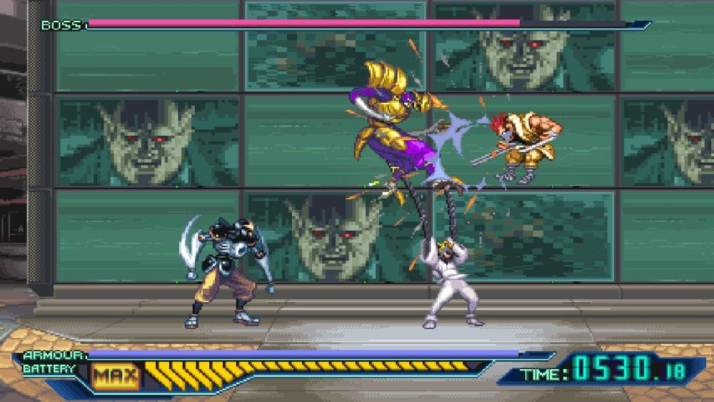 The Ninja Saviors: Return Of The Warriors Review Screenshot 2