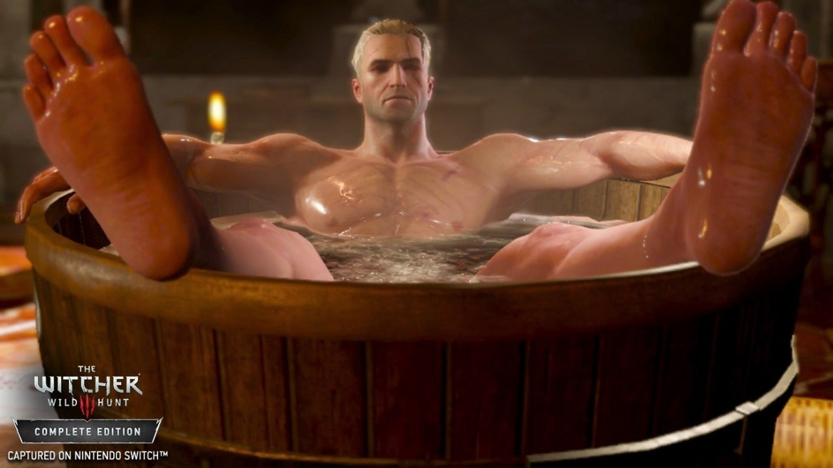 The Witcher 3 Switch Preview Screenshot 1