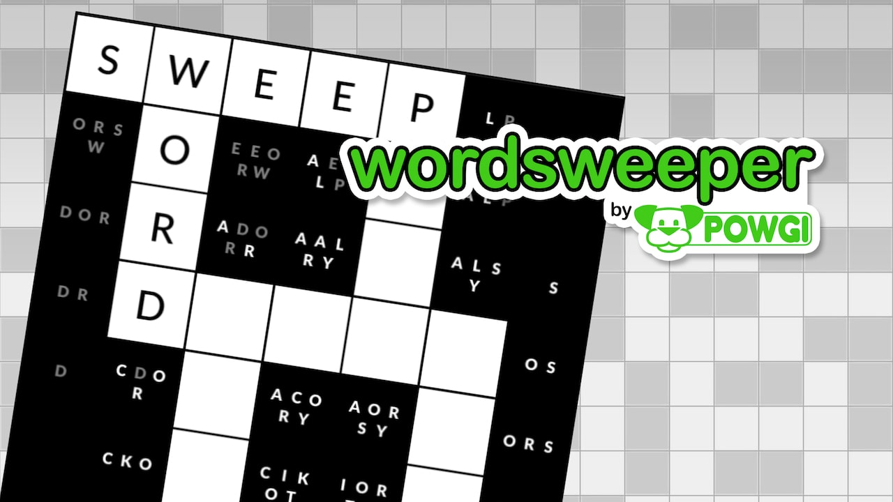 Wordsweeper By POWGI Logo
