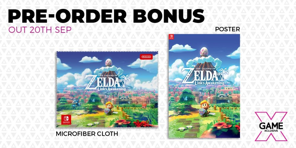 The Legend of Zelda: Link's Awakening Preorder Bonus Photo