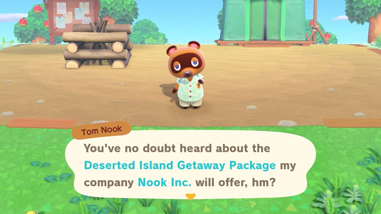 New Animal Crossing New Horizons Trailer Promotes The Nook
