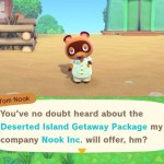 Animal Crossing: New Horizons Deserted Island Getaway Package Screenshot