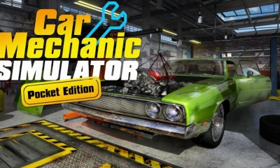 Car Mechanic Simulator Pocket Edition Logo