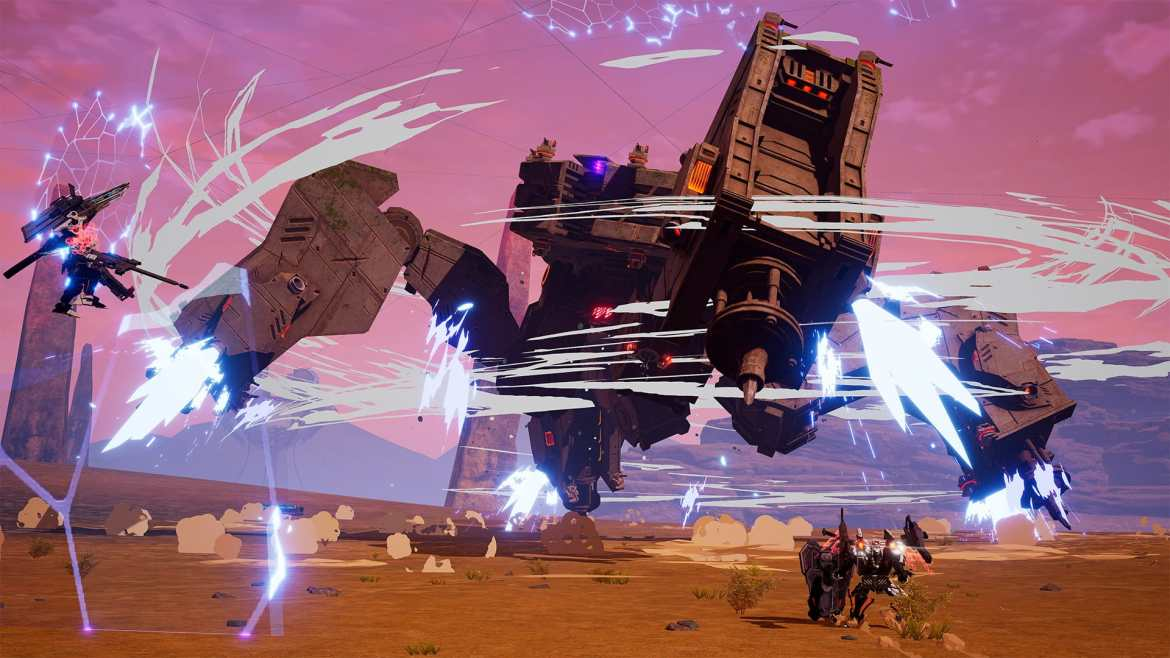 Daemon X Machina Review Screenshot 2