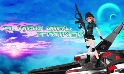 Flying Girl Striker Logo
