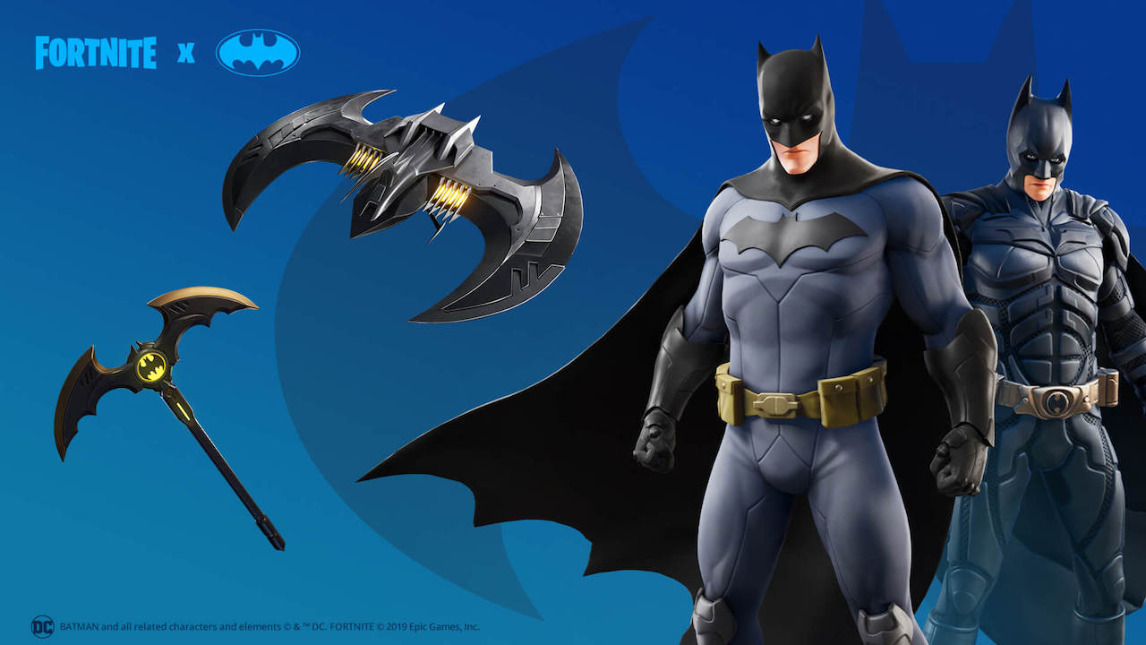 Fortnite Batman Caped Crusader Pack Screenshot