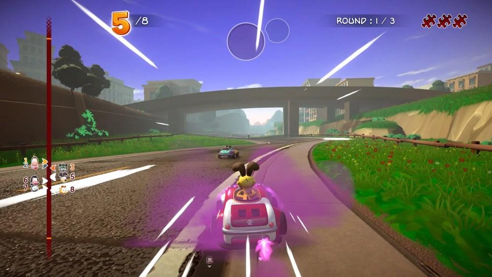 Garfield Kart Furious Racing Screenshot September 2019 4