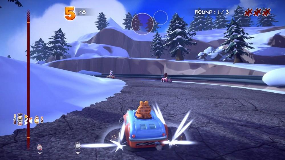 Garfield Kart Furious Racing Screenshot September 2019 7