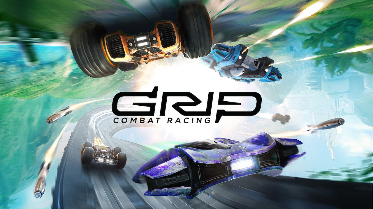 GRIP: Combat Racing AirBlades Vs Rollers Ultimate Edition Logo
