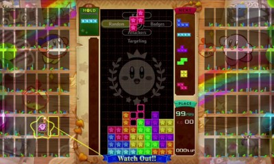 Kirby Tetris 99 Theme Screenshot