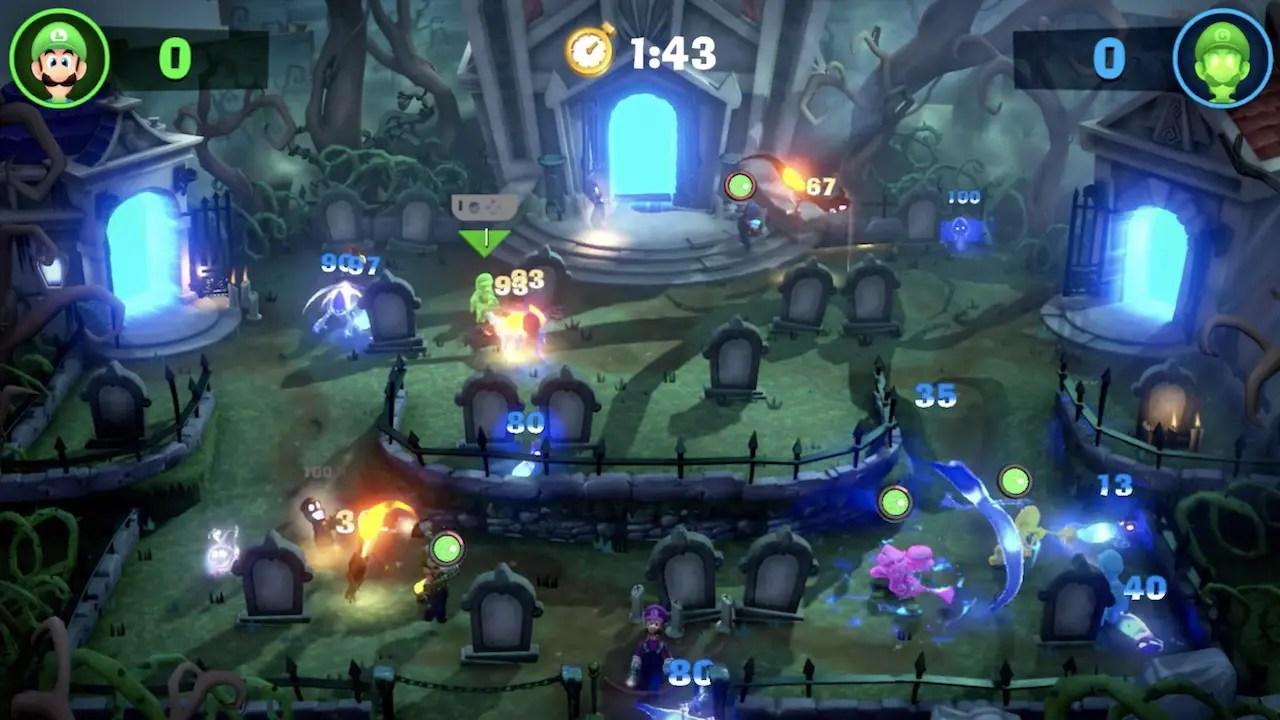 Luigi's Mansion 3 ScreamPark Mode Screenshot