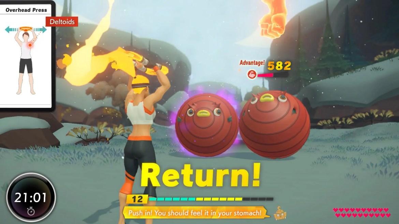 Ring Fit Adventure Screenshot 2