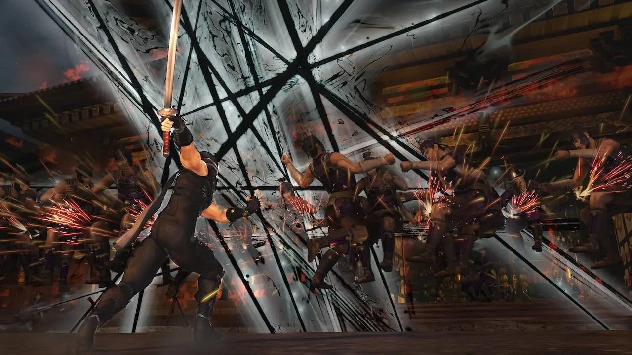 Ryu Hayabusa Warriors Orochi 4 Ultimate Screenshot