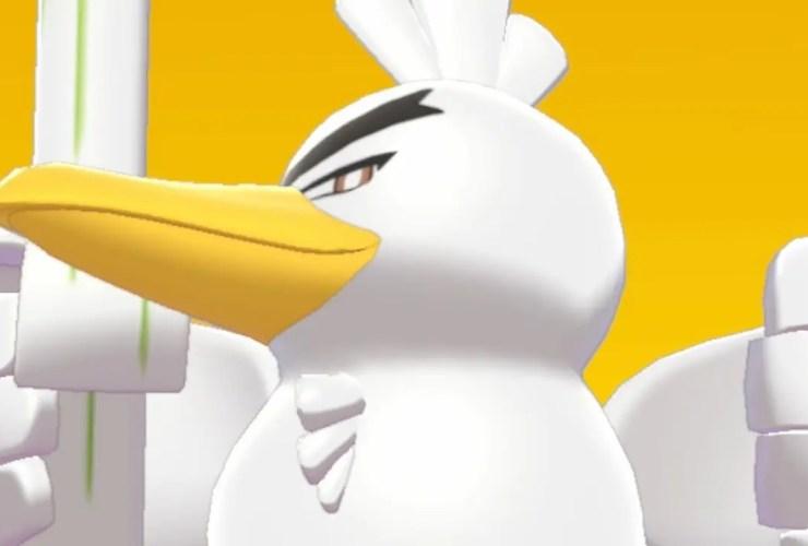 Sirfetch'd Pokémon Sword Screenshot