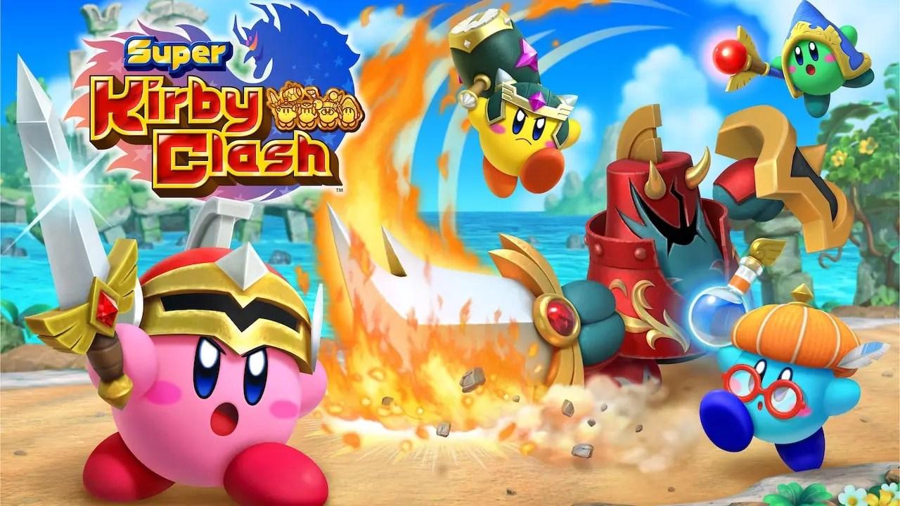 Δείτε κρυφούς κωδικούς για το Super Kirby Clash