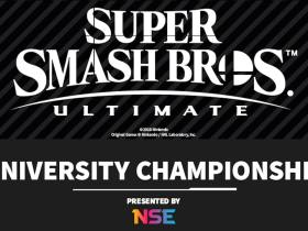 Super Smash Bros. Ultimate University Championship Logo