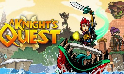 A Knight's Quest Logo