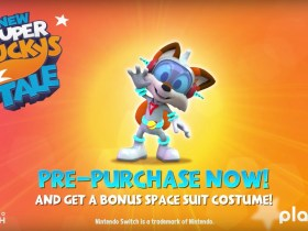 New Super Lucky's Tale Space Suit Costume Screenshot