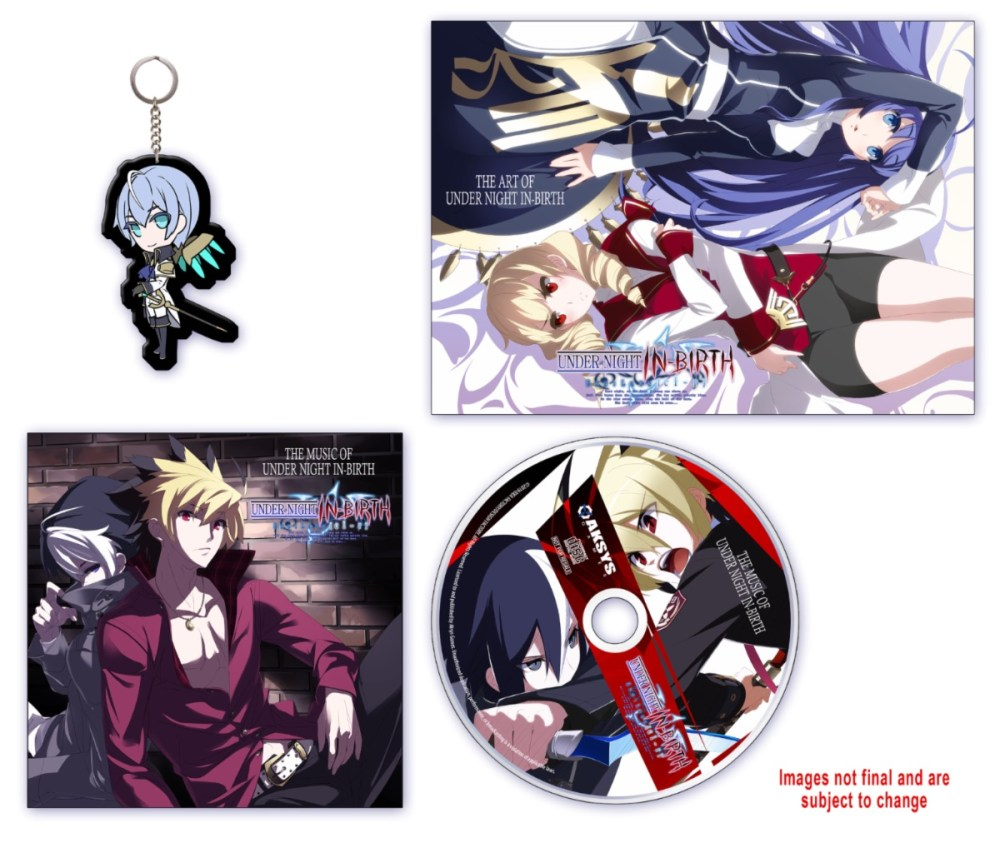 Under Night In-Birth Exe:Late[cl-r] Collector's Edition Photo