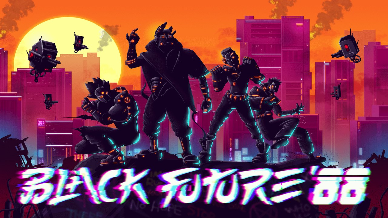 Black Future '88 Logo