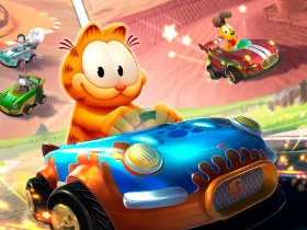 Garfield Kart: Furious Racing Key Art