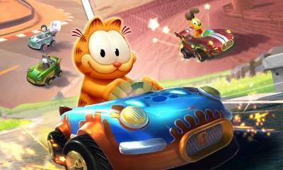 Garfield Kart: Furious Racing Key Art