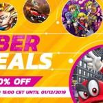 Nintendo eShop Cyber Deals 2019 Logo