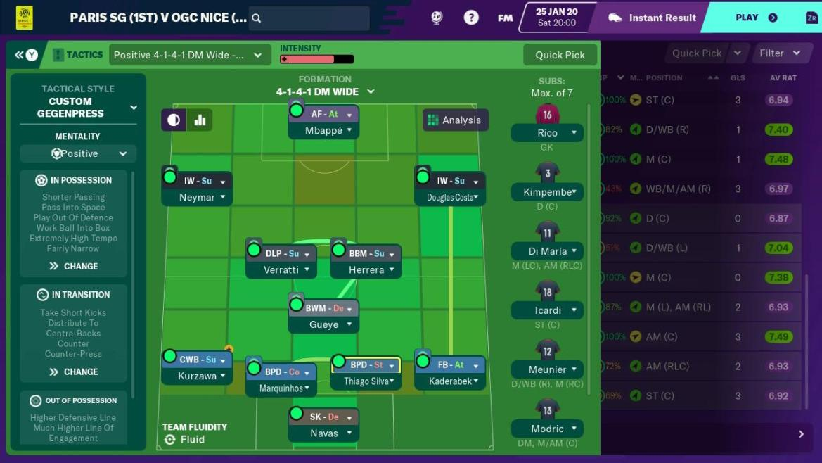 Football Manager 2020 Touch Review Screenshot 1