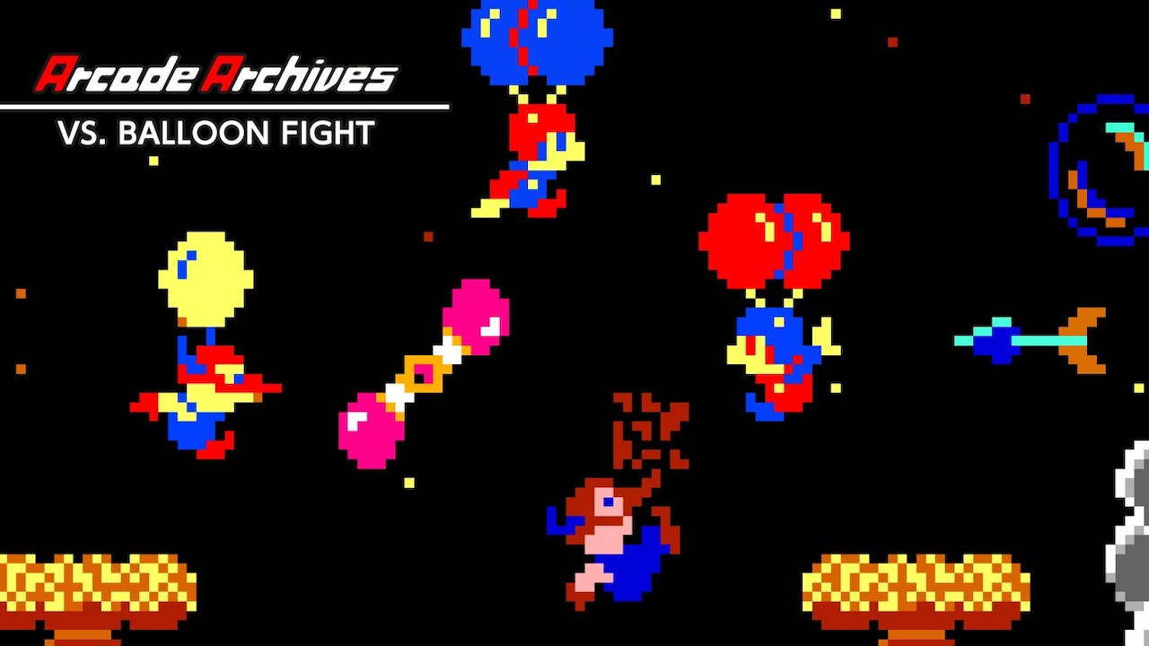 Arcade Archives VS. Balloon Fight Logo