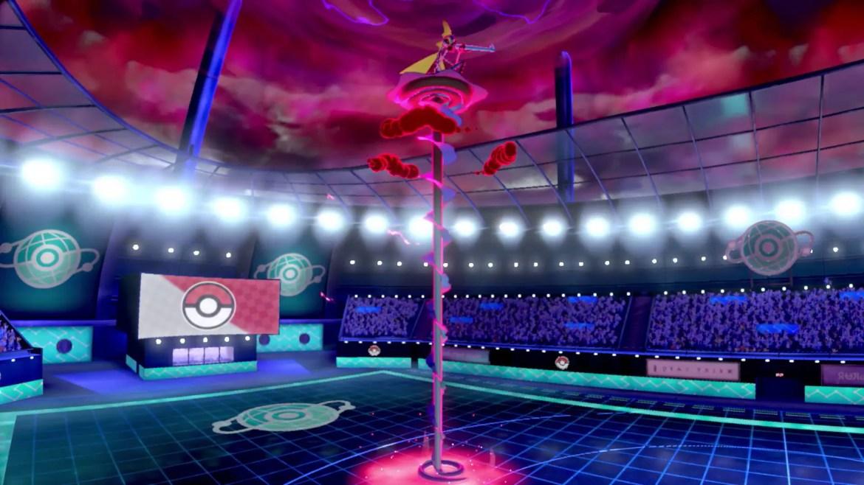 Gigantamax Inteleon Pokémon Sword And Shield Screenshot