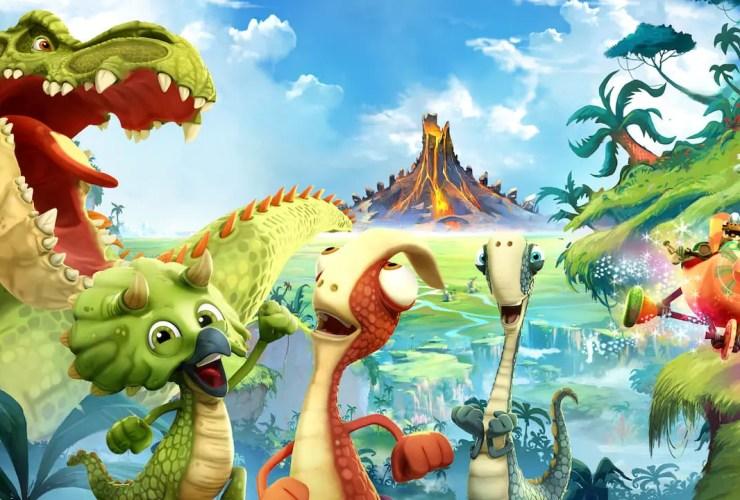 Gigantosaurus: The Game Key Art
