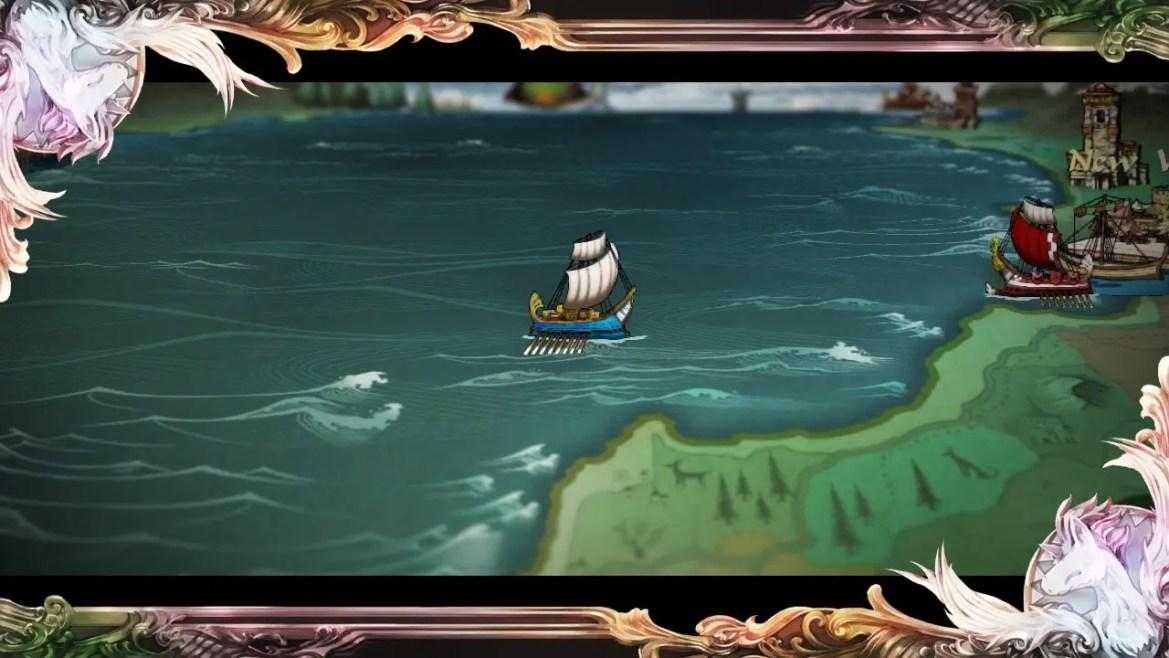 SaGa Scarlet Grace: Ambitions Review Screenshot 2
