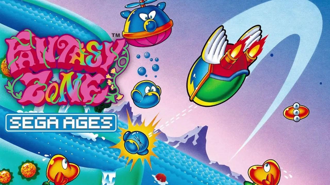 SEGA AGES Fantasy Zone Logo
