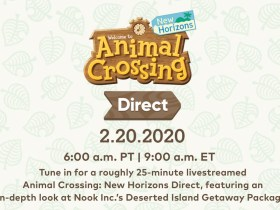 Animal Crossing: New Horizons Direct Logo