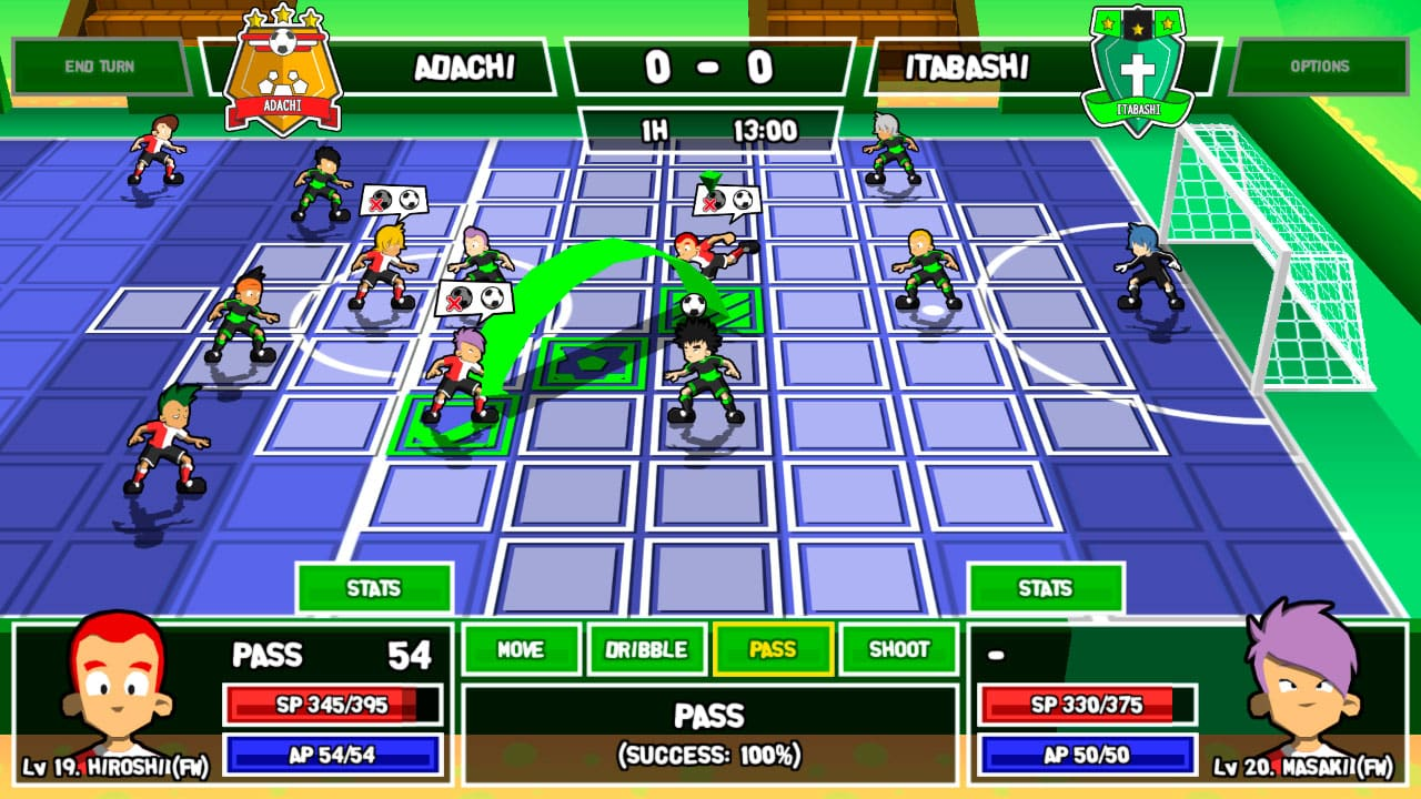 Ganbare! Super Strikers Screenshot