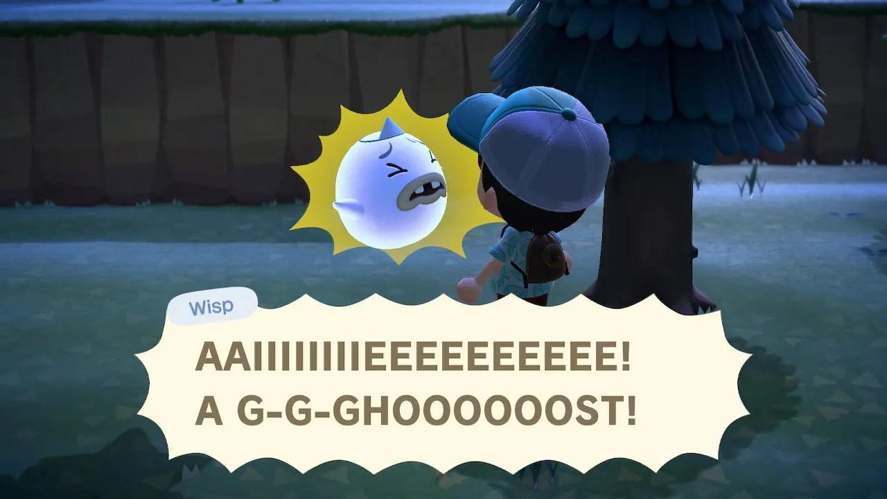 Animal Crossing New Horizons Wisp Screenshot