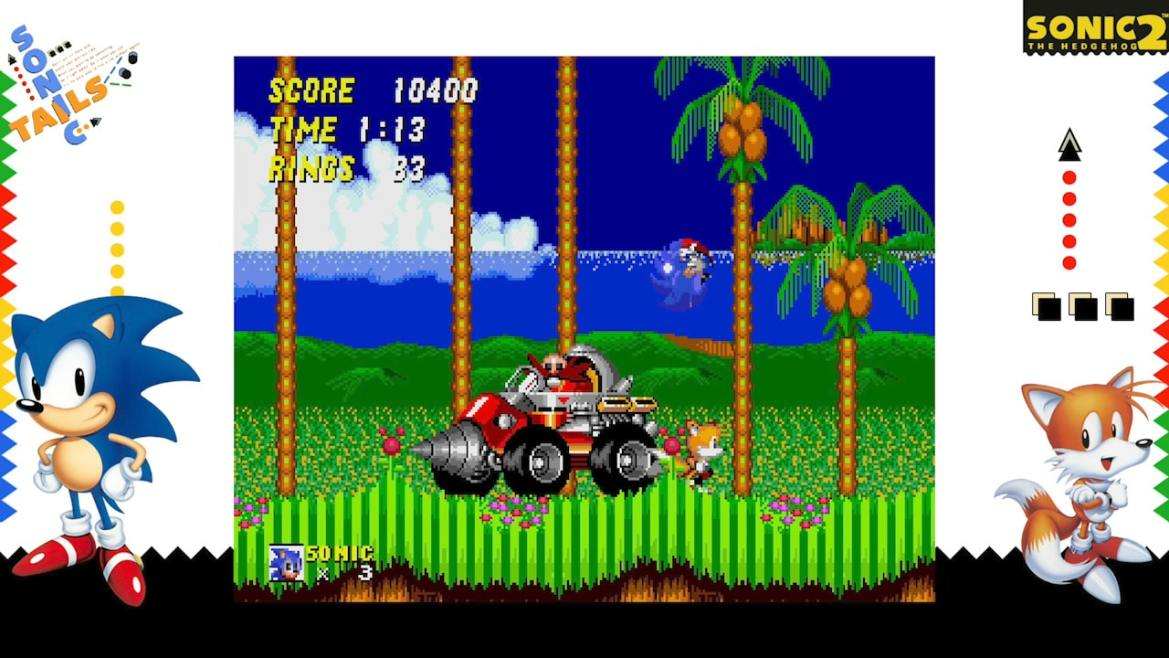 SEGA AGES Sonic The Hedgehog 2 Review Screenshot 2