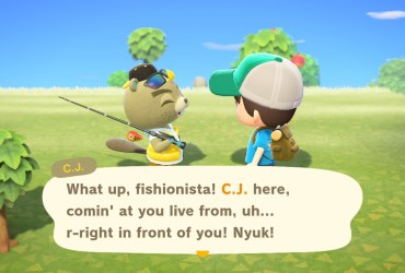 Animal Crossing New Horizons C.J. Screenshot