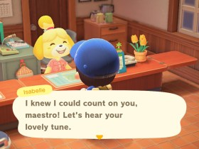 Animal Crossing: New Horizons Island Tunes Screenshot